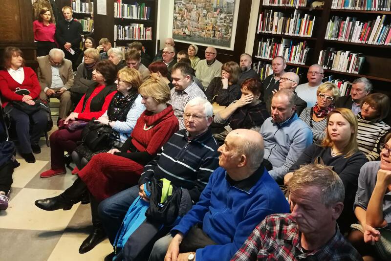 Spotkanie poświęcone Odessie w Bibliotece na ul. Mariackiej