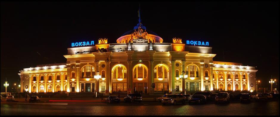 Dworzec w Odessie