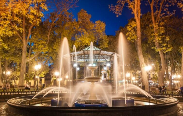 Odessa to miasto parków i malowniczych podwórek