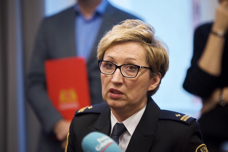 Agnieszka Grabowska, z-ca komendanta Straży Miejskiej w Gdańsku do spraw prewencji