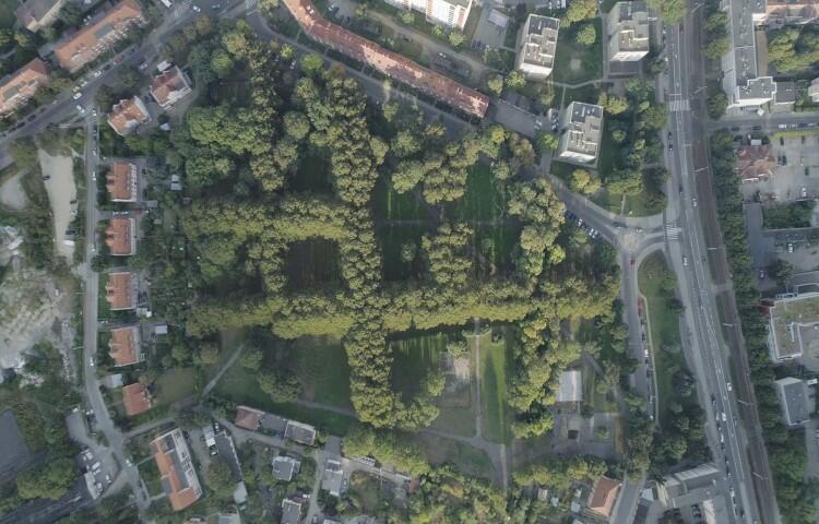 Gdańsk - Siedlce. Park przy ul. Bema
