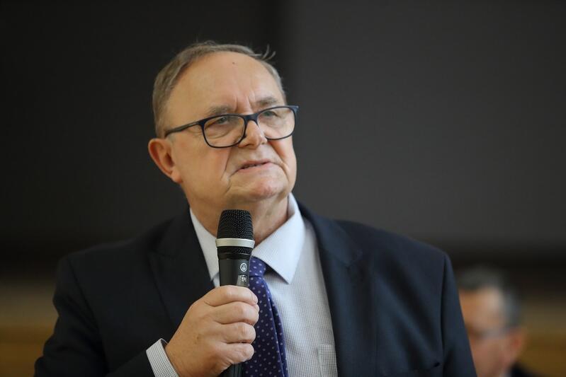 Członek zarządu województwa pomorskiego Józef Sarnowski