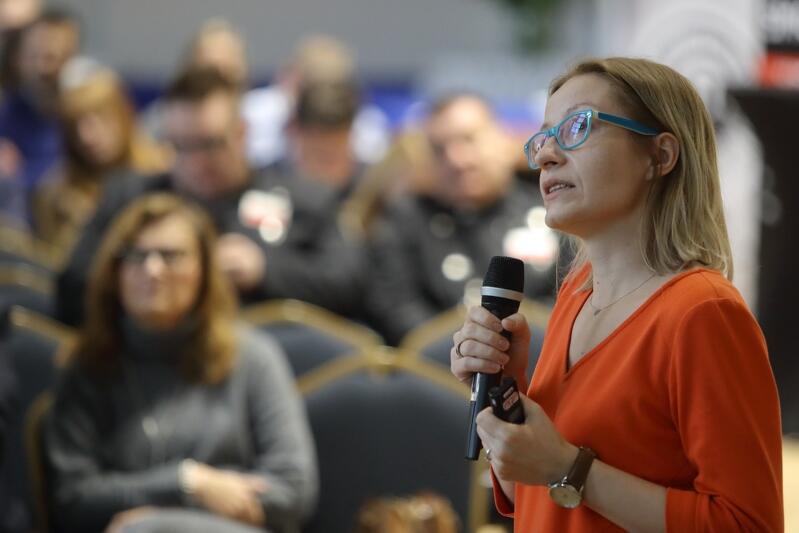 Anna Skwierawska z Departamentu Środowiska i Rolnictwa Urzędu Marszałkowskiego Województwa Pomorskiego, w którym powstały projekty antysmogowych regulacji