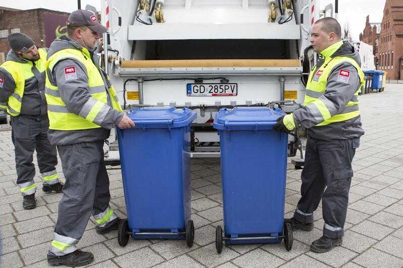 Prezentacja nowych gdańskich śmieciarek