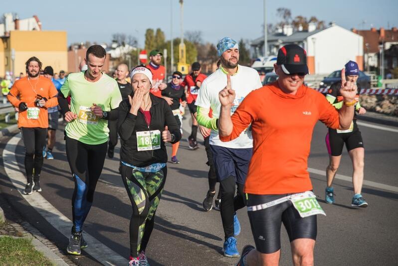 We wszystkich biegach Półmaratonu udział wzięło 5,5 tys. osób