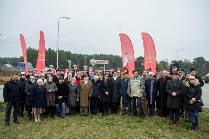 W uroczystości wzięli udział kombatanci, młodzież szkolna i władze Gdańska