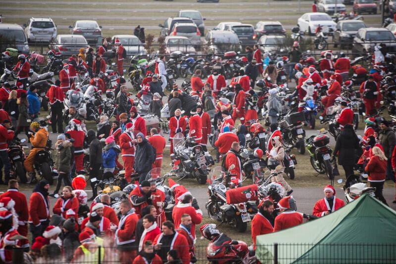W ubiegłym roku wydarzenie zgromadziło około 1600 Mikołajów. Jak będzie tym razem?