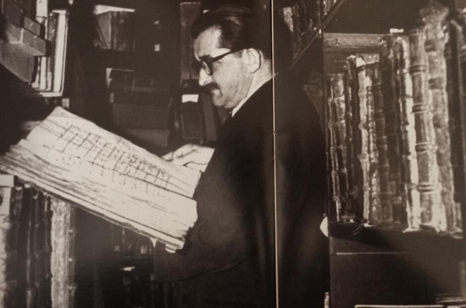 Dla Mariana Pelczara biblioteka była drugim domem, 1948
