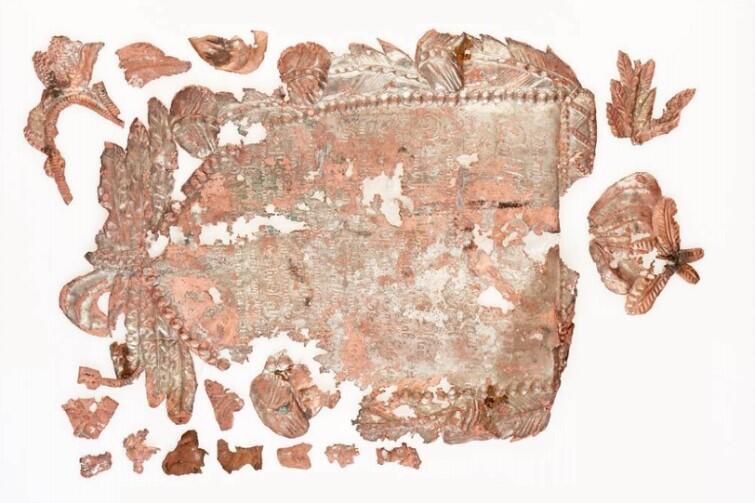 Odkryty w 2009 r. kartusz natrumienny mieszczanina gdańskiego Gotthilfa Bergemanna
