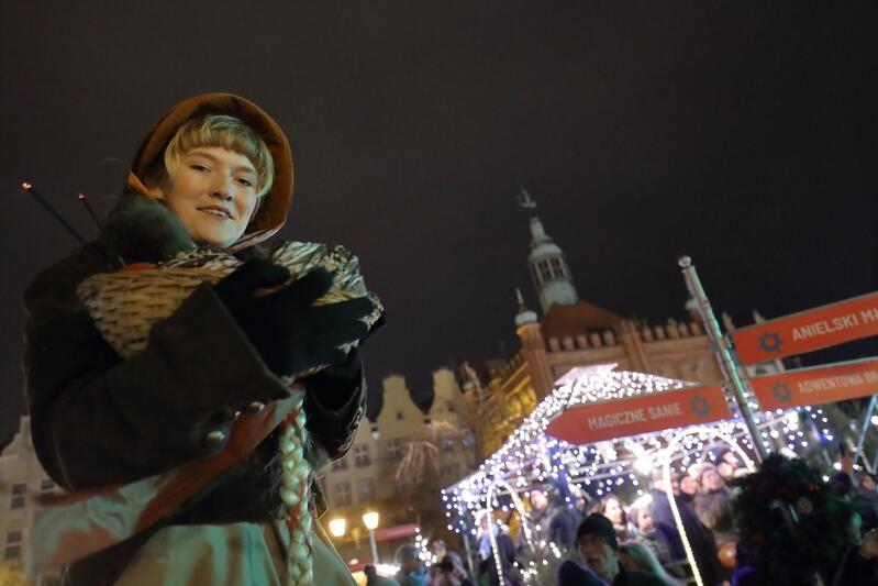 W 2019 r. Gdański Jarmark Bożonarodzeniowy rozpoczął się piernikowo
