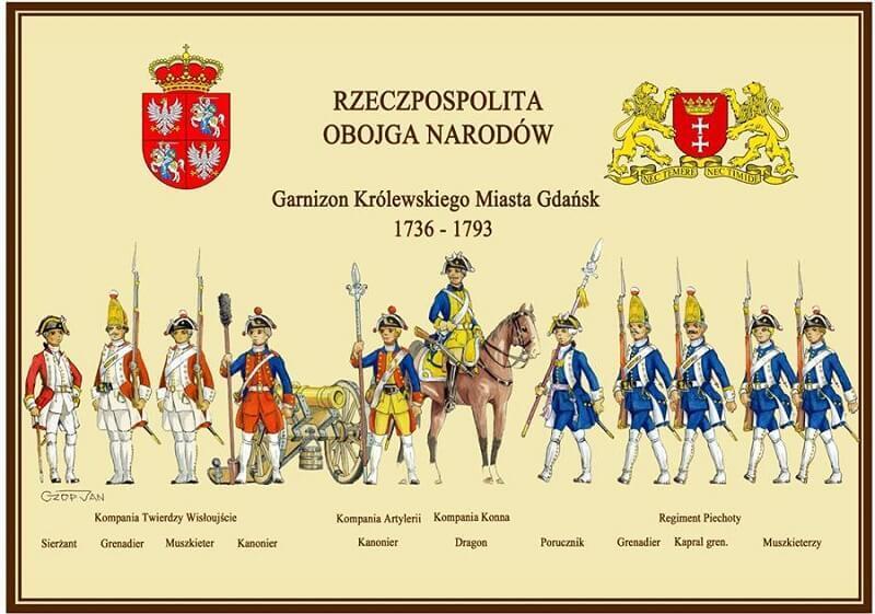 Oto mundury Garnizonu Gdańsk z czasów Christiana Tolkiena