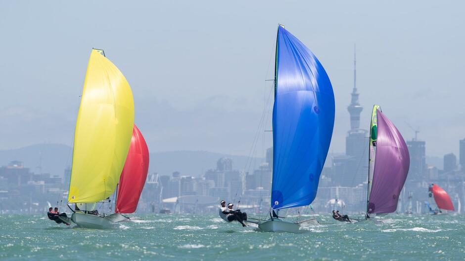 Tuż przed mistrzostwami świata u wybrzeży Auckland odbyły się regaty Oceania Championship 2019