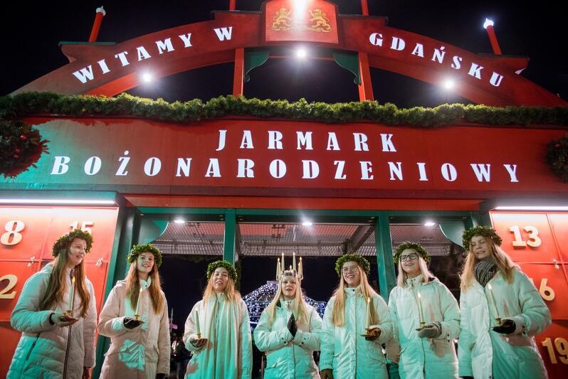 Wizyta w Gdańsku Orszaku Św. Łucji to znak, że święta bożonarodzeniowe coraz bliżej