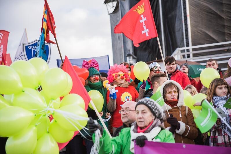 Wolontariuszem można być niemal w każdym wieku. Nz. uczestnicy Gdańskiej Parady Wolontariuszy, która odbyła się 5 grudnia 2018 r.