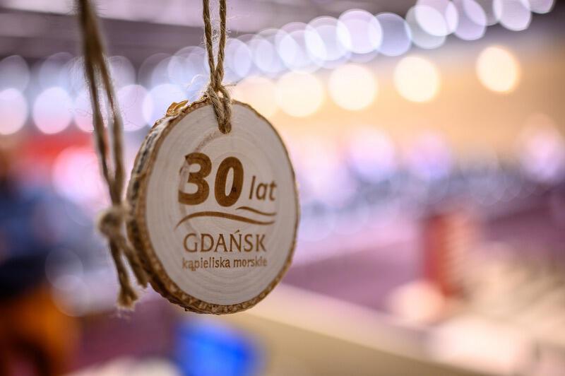 Pamiątkowy medal z okazji 30-lecia zarządzania Kąpieliskami Morskimi przez Gdański Ośrodek Sportu (wcześniej jako Miejski Ośrodek Sportu i Rekreracji)