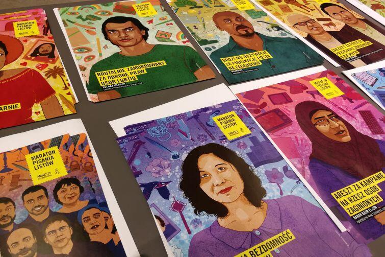 Maraton Pisania Listów to akcja Amnesty International, organizowana od wielu lat w ramach Międzynardowego Dnia Praw Człowieka