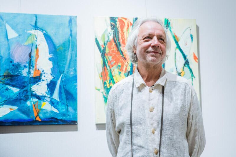 Marek Wróbel jest artystą związanym z Trójmiastem. W tym roku obchodzi 35-lecie pracy twórczej