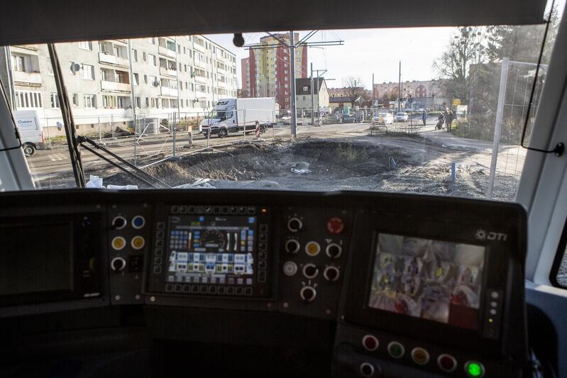 Od 7 grudnia tramwajem dojedziemy do przystanku przy ul. Zimnej, a zakończenie prac na dwóch kolejnych etapach, planowane jest na koniec maja 2020 r.