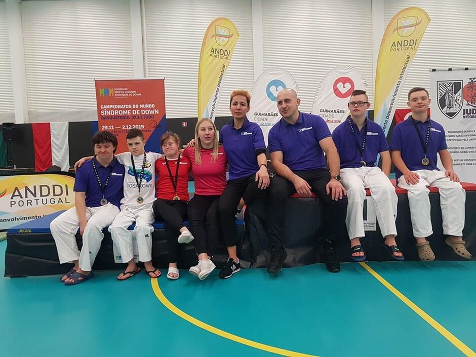Gdańska drużyna judoków wywalczyła na Mistrzostwach Świata w Portugalii cztery złote medale i jeden brąz.