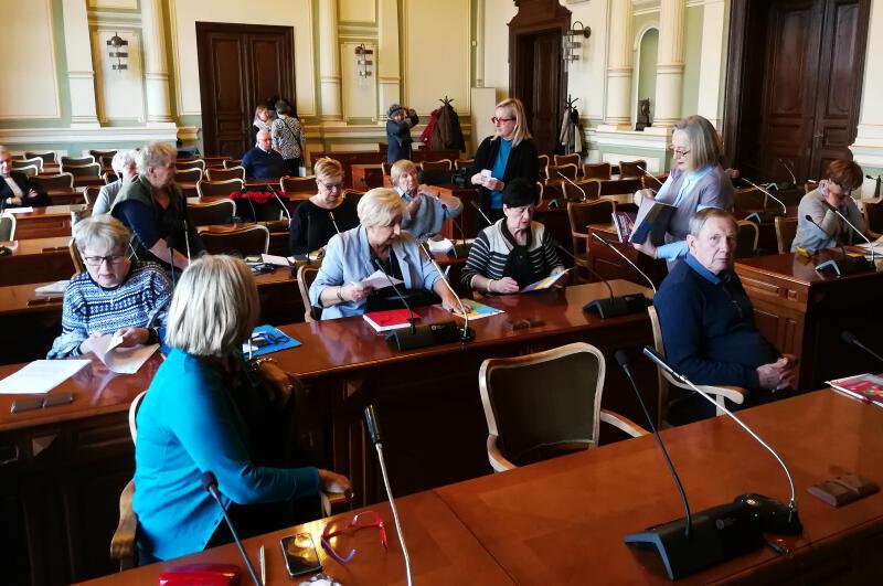 W Radzie Seniorów w Gdańsku zasiada 31 radnych