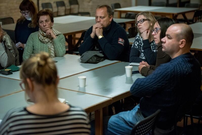Dyskutowano w kameralnym, ale doświadczonym gronie realizatorów projektów z budżetu obywatelskiego w Gdańsku