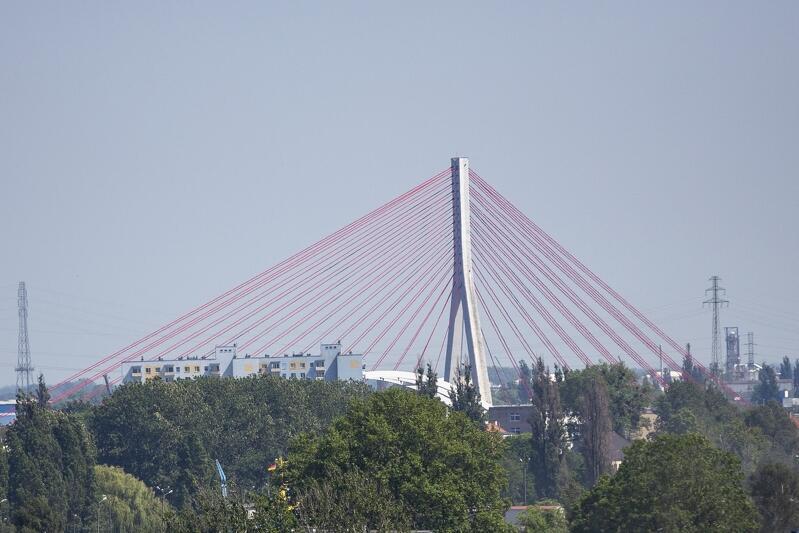 W przyszłym tygodniu zaplanowano prace konserwacyjne na moście wantowym