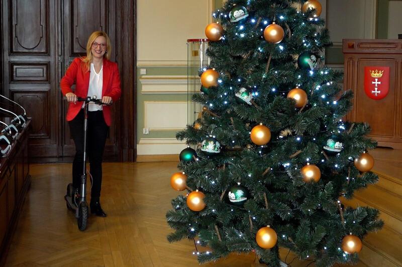 Do udziału w Sylwestrowym Konkursie zaprasza przewodnicząca Rady Miasta Gdańska Agnieszka Owczarczak