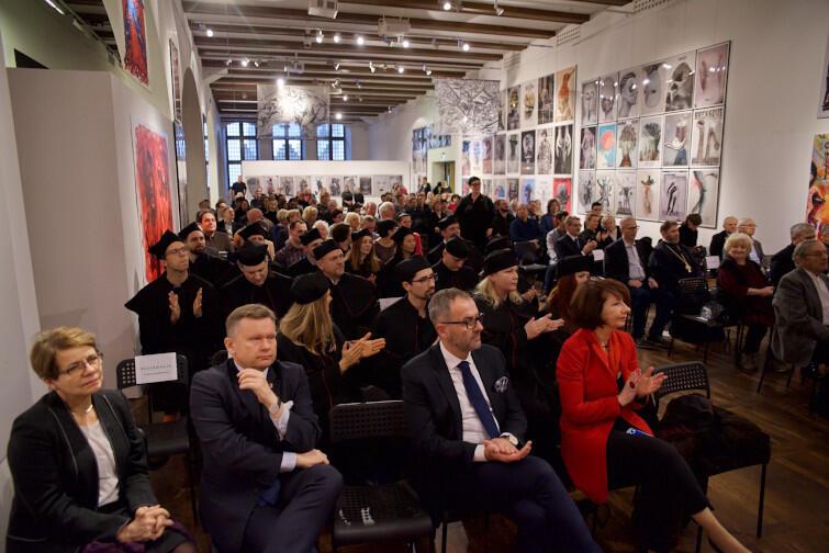 Uroczystość odbyła się w Auli Wielkiej Zbrojowni, w piątek, 13 grudnia, 2019 r.