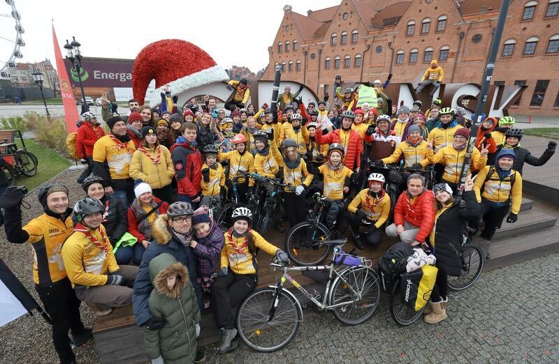 Bike Jamboree 2017-2019 rozpoczął i zakończył się w Gdańsku