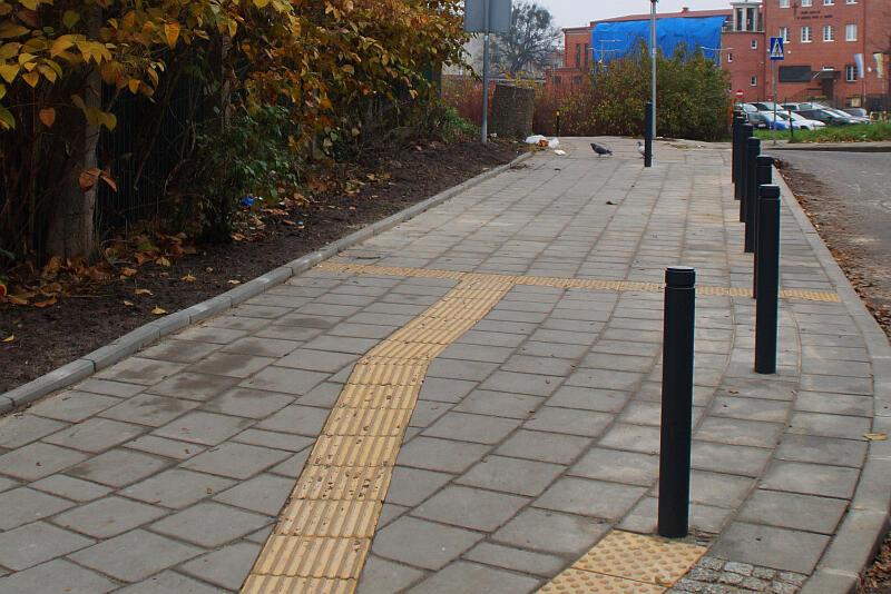 Nowy chodnik na ul. Wesołej