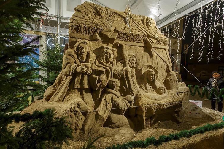 Szopka z Piasku to gdańska tradycja, wyjątkowa na skalę kraju. Odsłonięta zostanie 21 grudnia