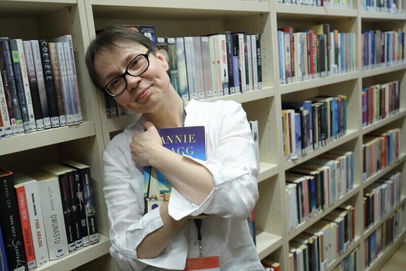 Joanna Redmann-Żukowska, kierownik Biblioteki Brzeźno