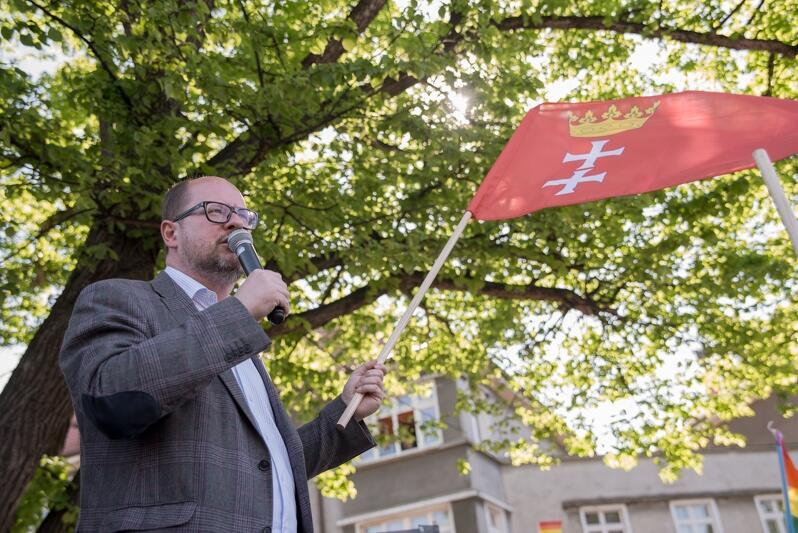 Prezydent Paweł Adamowicz w maju 2017 r.