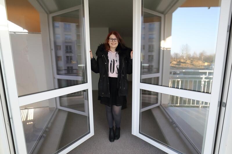 Pani Karolina zamieszka w kawalerce, która - jak przyznaje kobieta - jest dla niej mieszkaniem idealnym