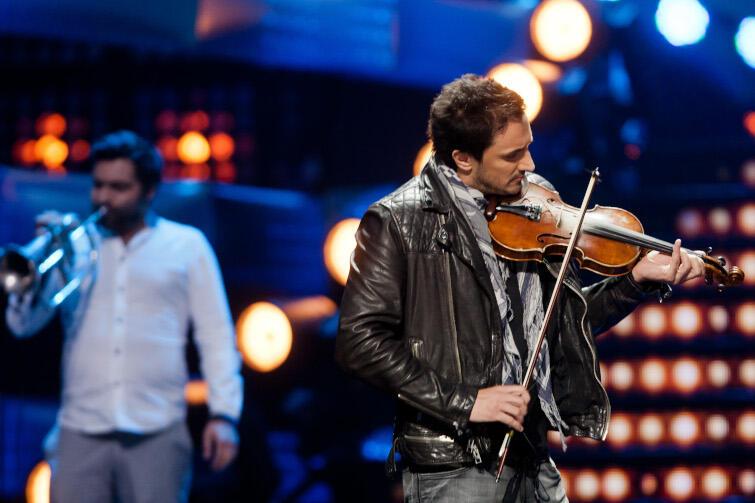Zakopower będzie jedną z muzycznych gwiazd tegorocznego sylwestra organizowanego w Gdańsku. Nz. Sebastian Karpiel Bułecka podczas festiwalu telewizji Polsat Sopot Top Trendy w Operze Leśnej