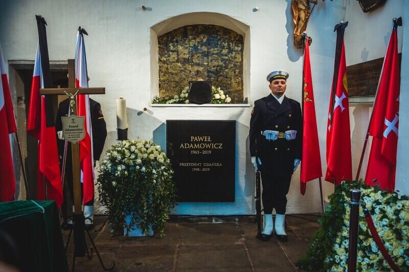 Bazylika Mariacka. Pogrzeb Prezydenta Gdańska Pawła Adamowicza