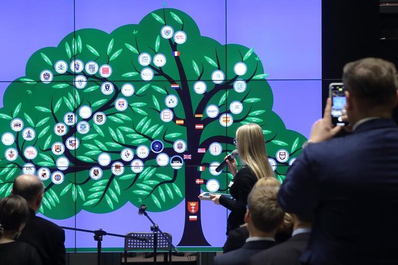 W trakcie zjazdu zaprezentowano drzewo stypentystów , na którym znalazły się uczelnie z m.in. Wielkiej Brytanii, Stanów Zjednoczonych czy Holandii