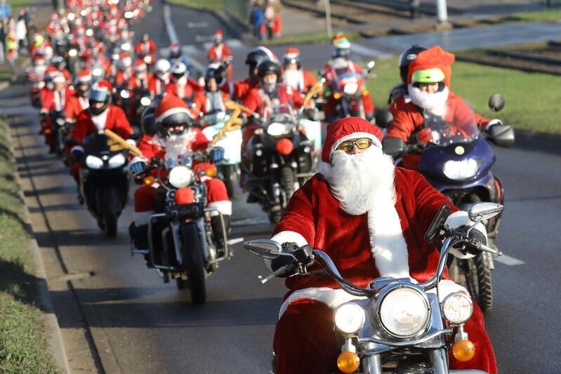 W tegorocznym przejeździe udział wzięło 1840 Mikołajów
