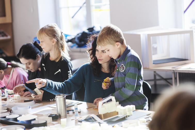 Najmłodsi będą pracować i tworzyć pod okiem doświadczonych animatorów