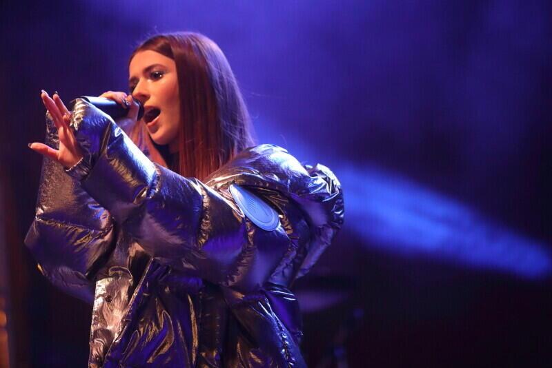 Roksana Węgiel koncertowała w sylwestra najpierw w Gdańsku, a potem w Zakopanem