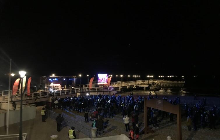 Beach party w Brzeźnie - tu to tańca porwał publiczność DJ-ski duet Kalwi & Remi