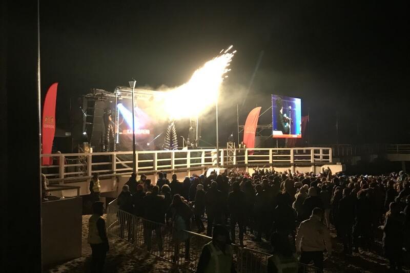 Przy brzeźnieńskim molo bawiło się około 5 tys. osób