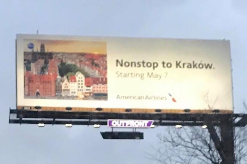 Dla gdańszczan błąd popełniony w reklamie AA jest w sumie całkiem miły. Kraków ma powody do niezadowolenia