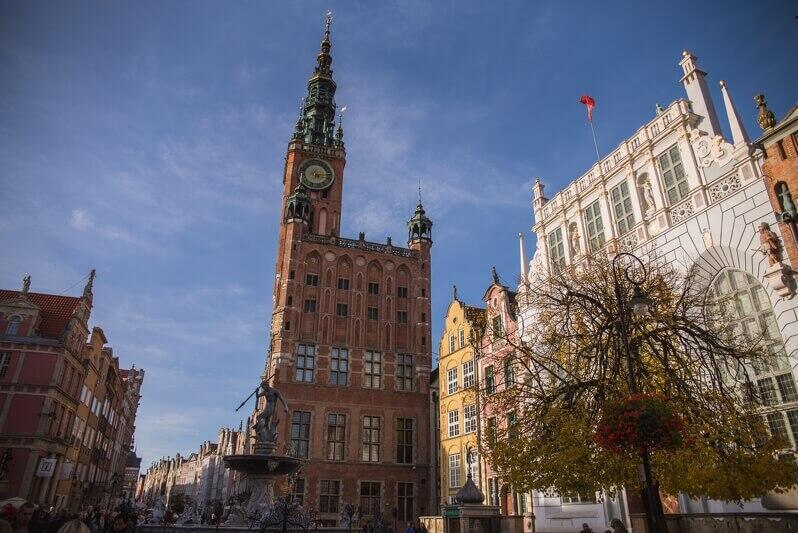 Ratusz Głównego Miasta w Gdańsku - to tu odbędzie się debata historyków `Napoleon, Polska, Gdańsk`