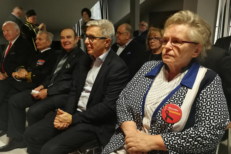 Miasto Gdańsk reprezentowali radni Teresa Wasilewska (WdG) i Andrzej Kowalczys (KO)
