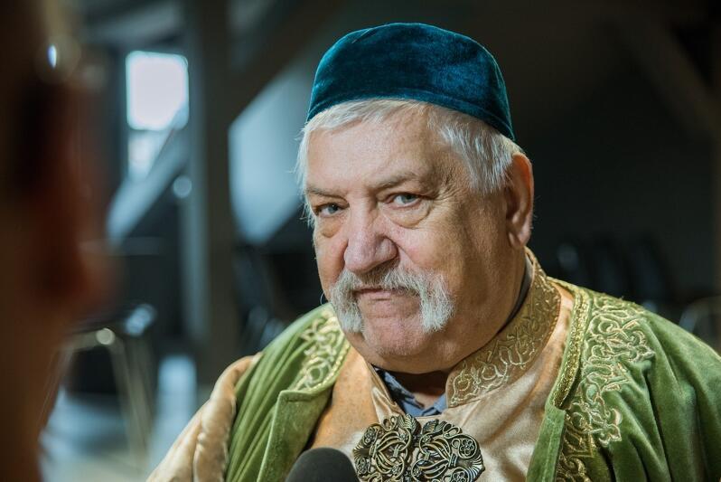 Jerzy Murza Szahuniewicz - prezes Narodowego Centrum Kultury Tatarów RP im. Leona Najmana Mirzy Kryczyńskiego w Gdańsku