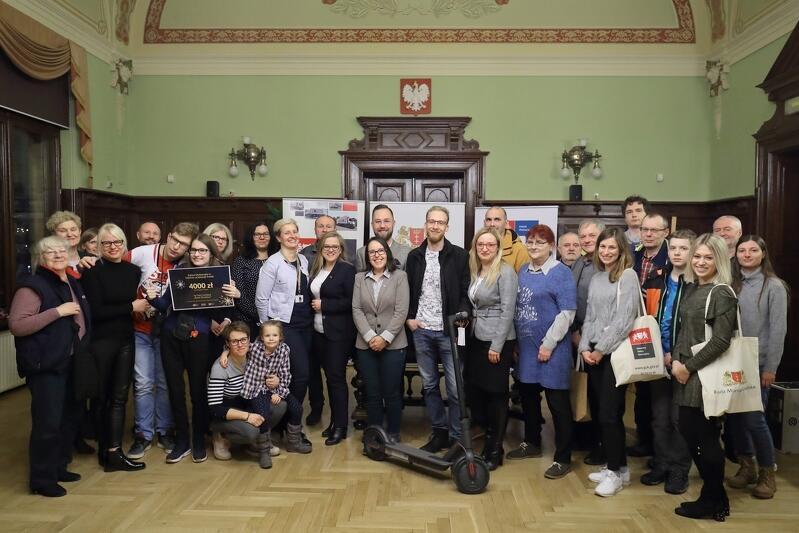 W czwartek, 9 stycznia, ogłoszono wyniki konkursu sylwestrowego i wręczono nagrody laureatom