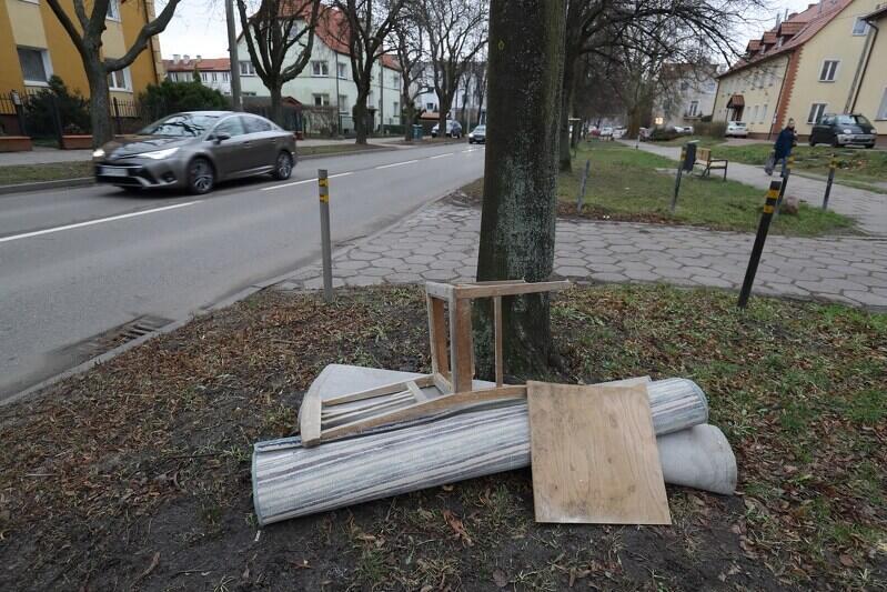 Takich widoków chyba nikt nie lubi... Porzucone gdzieś w Gdańsku