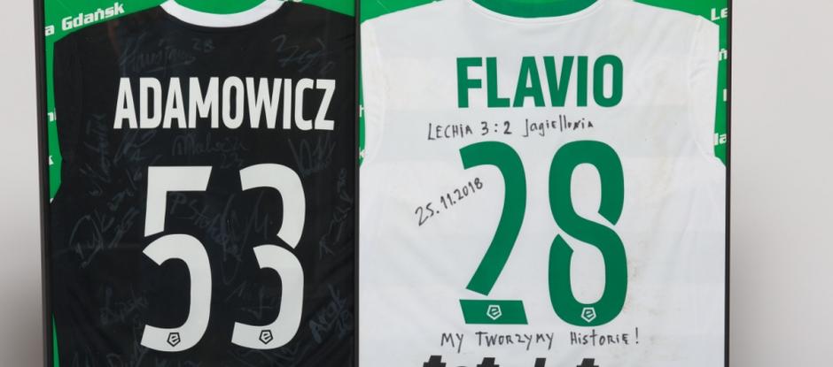 Koszulki przeznaczone przez Lechię na WOŚP