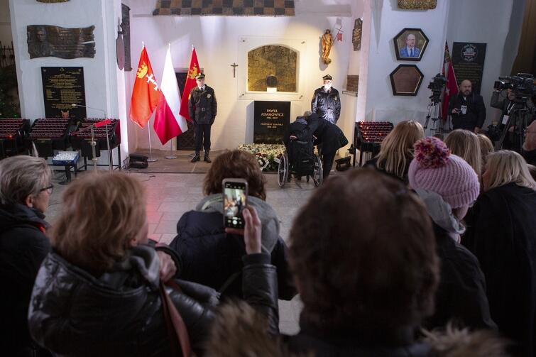 Oboje uczestniczyli m.in. w wydarzeniach organizowanych w Bazylice Mariackiej